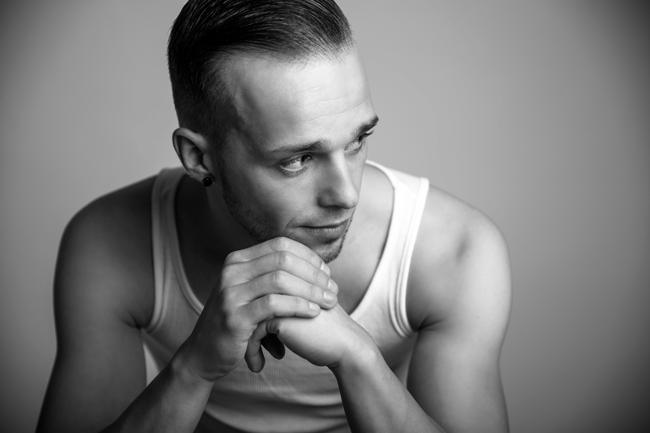 Portrait Fotografie Mann Männer Die Bessere Seite